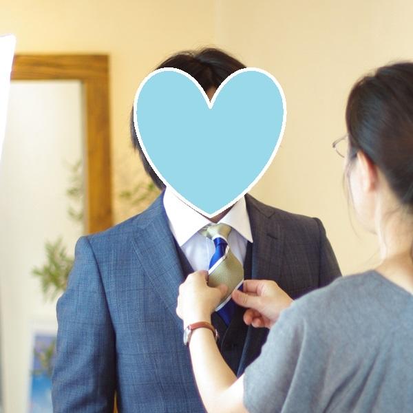 結婚相談所のサポートの例:お見合い写真撮影。スタイリング