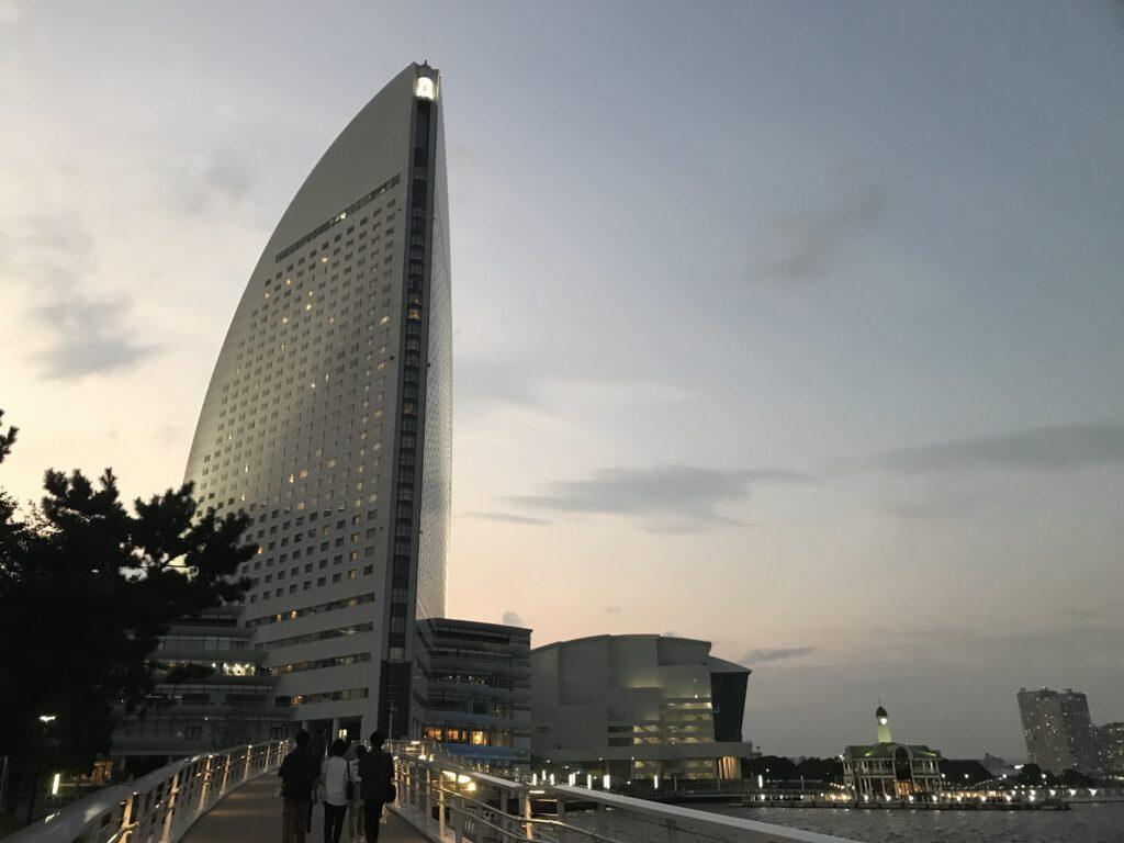 ヨコハマグランドインターコンチネンタルホテル&女神橋