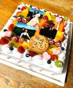 写真付ケーキ・プリントケーキ