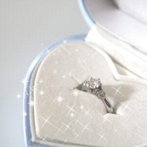 結婚相談所 婚約指輪